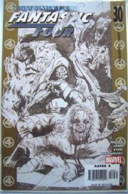 Ultimate Fantastic Four #30 Suydam Marvel Zombies Sketch Retailer Incentive Variant
